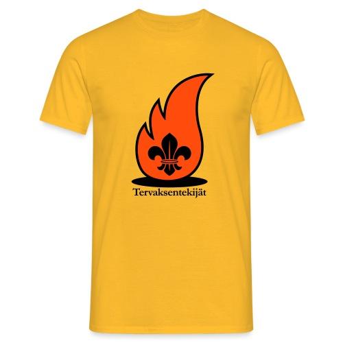 Terte lieskalogo mustaora - Miesten t-paita