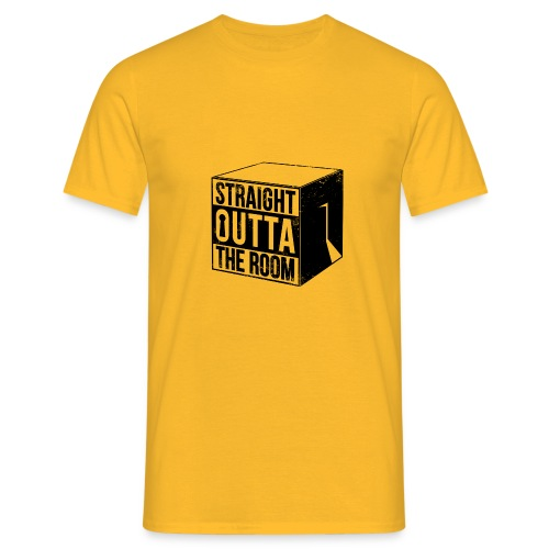 Escape Room / Exit Room / Straight Outta The Room - Männer T-Shirt