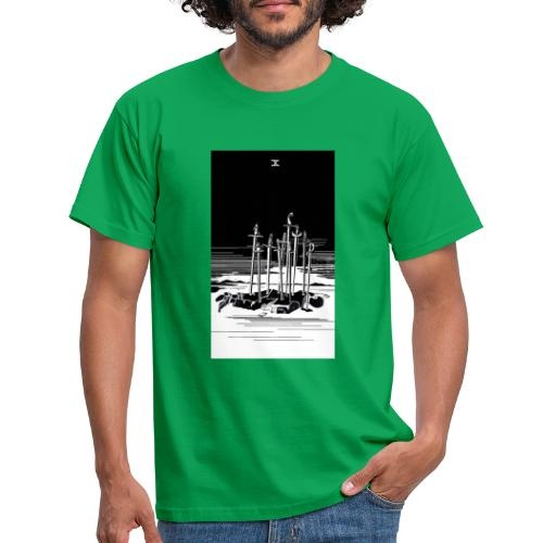 Revenge Capitalism (on color) - Men's T-Shirt
