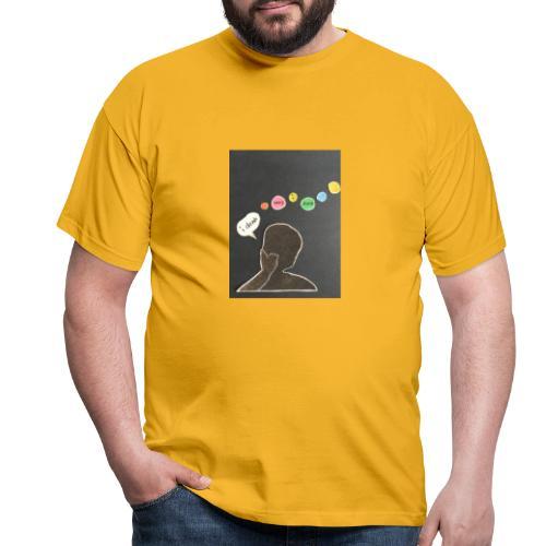 I denk wos i denk - Männer T-Shirt