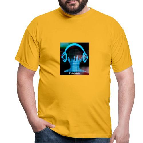 I love music - Camiseta hombre