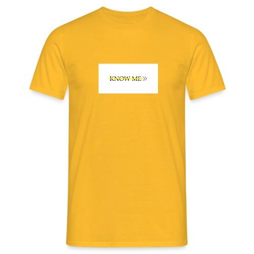 KNOW ME - Maglietta da uomo