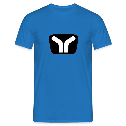 Yugo Logo Black-White Design - Men's T-Shirt