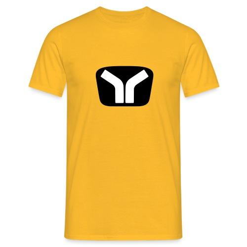 Yugo Logo Black-White Design - Men's T-Shirt