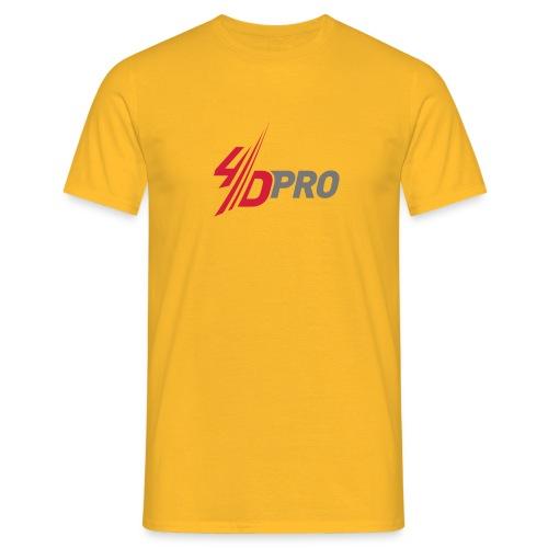 4d pro logo neu - Männer T-Shirt