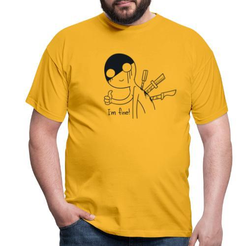 fine - Männer T-Shirt