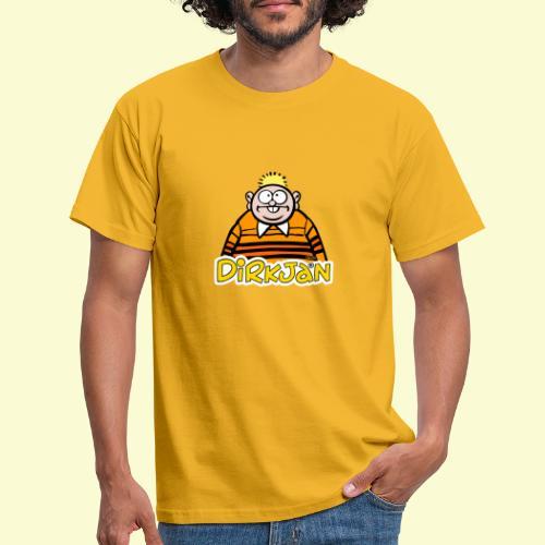 DirkjanHalfLogo - Mannen T-shirt