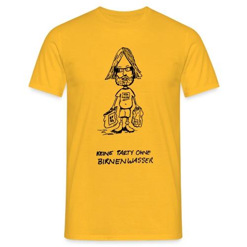 Birnenwasser - Männer T-Shirt