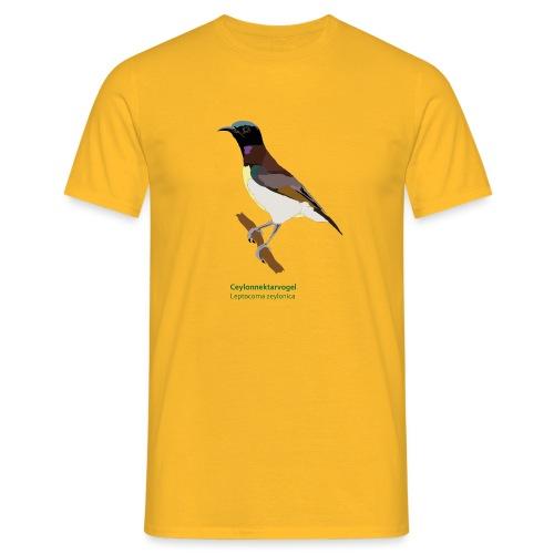 Ceylonnektarvogel - Männer T-Shirt