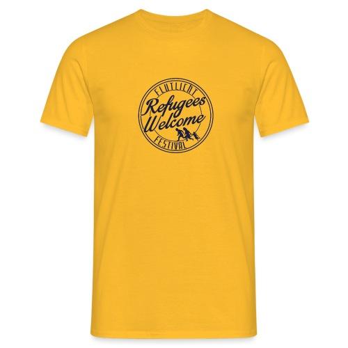 logo_refugges_navy - Männer T-Shirt