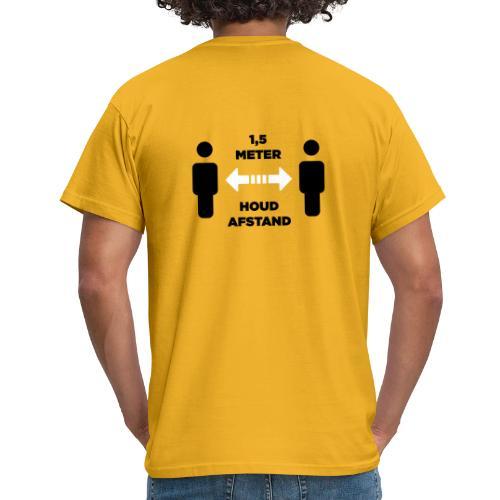 facet afstand 2 - Mannen T-shirt