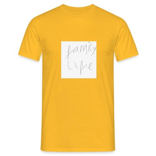 Family life bag - Men's T-Shirt