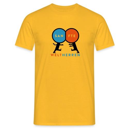 Sanfte Weltherren - Männer T-Shirt