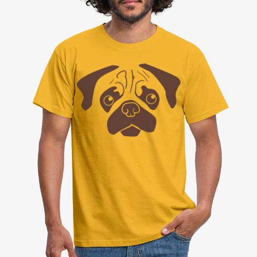 Pugsley - T-shirt herr