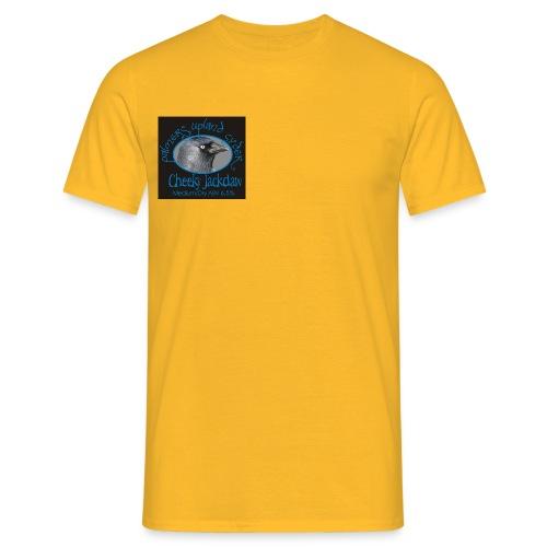 cheeky jackdaw black - Men's T-Shirt
