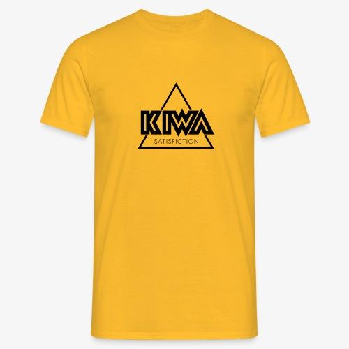 KIWA Satisfiction Black - Men's T-Shirt
