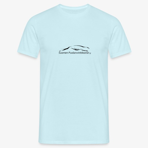 SUP logo musta - Miesten t-paita