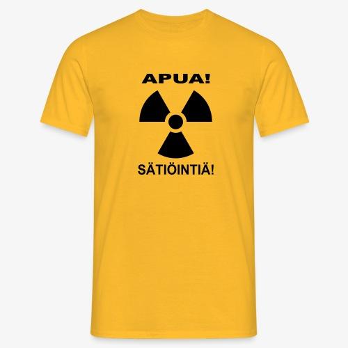 APUA! SÄTIÖINTIÄ! - Miesten t-paita