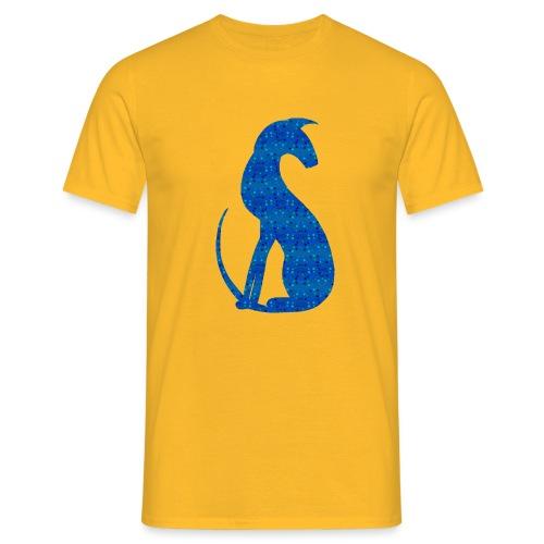Siluett blå - T-shirt herr