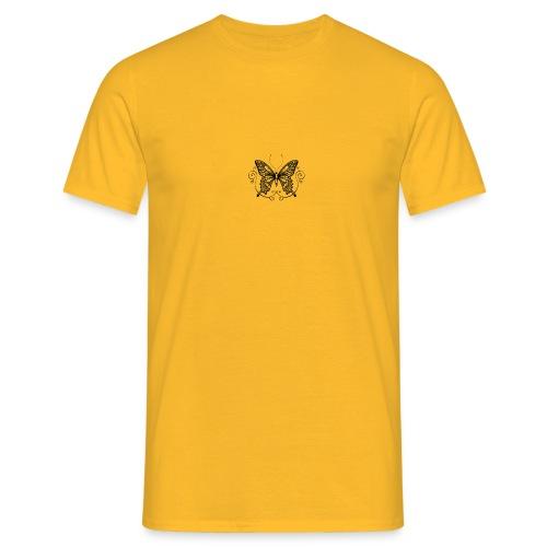 vlinder - Mannen T-shirt