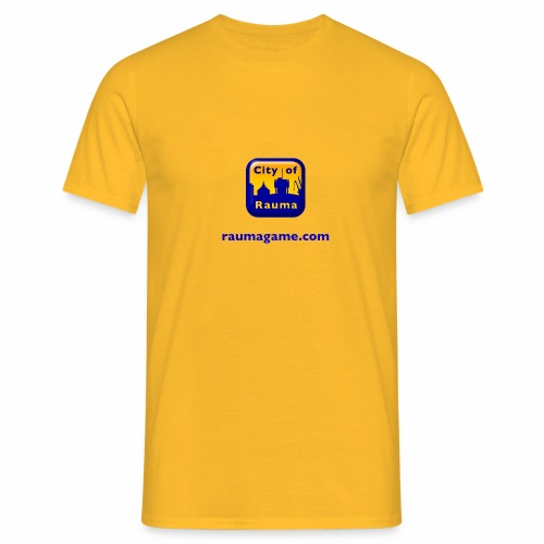 Raumagame logo - Miesten t-paita