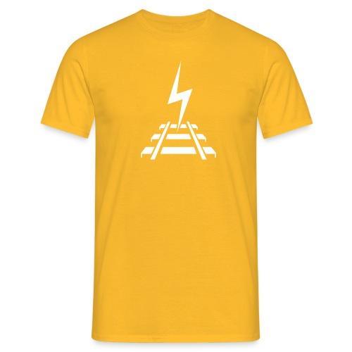 Logo Bahnstromer v9 6 2 - Männer T-Shirt
