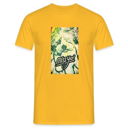 Musste, süsser Hund - Männer T-Shirt