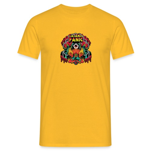 SATANIC PANIC NO BG png - T-skjorte for menn