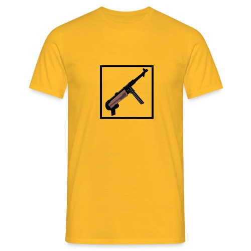 Mp40 german gun maschinenpistole 40 - Men's T-Shirt