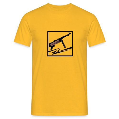 Mp40 german gun - Men's T-Shirt