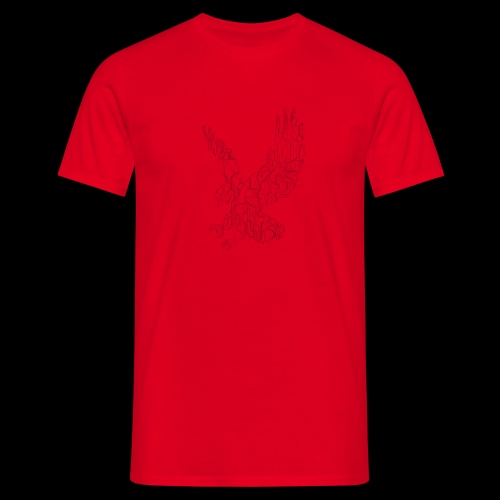 Eagle circuit - Herre-T-shirt