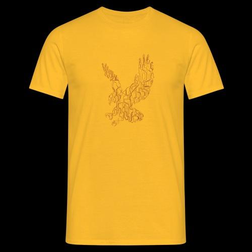 Eagle circuit - Herre-T-shirt