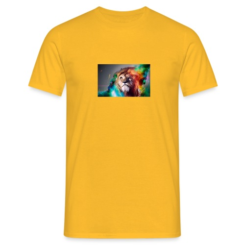hero lion - T-shirt Homme