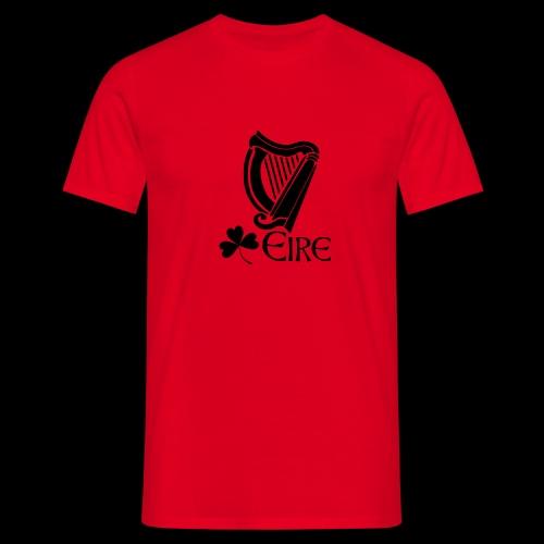Irish Harp and Shamrock - Men's T-Shirt