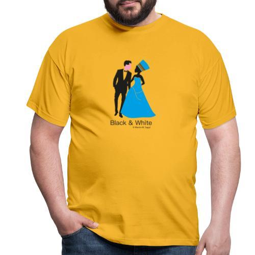 Black & White - Männer T-Shirt