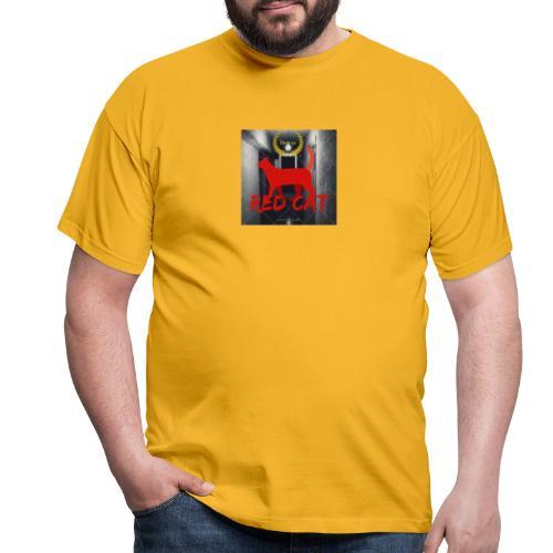 Red Cat (Deluxe) - Men's T-Shirt