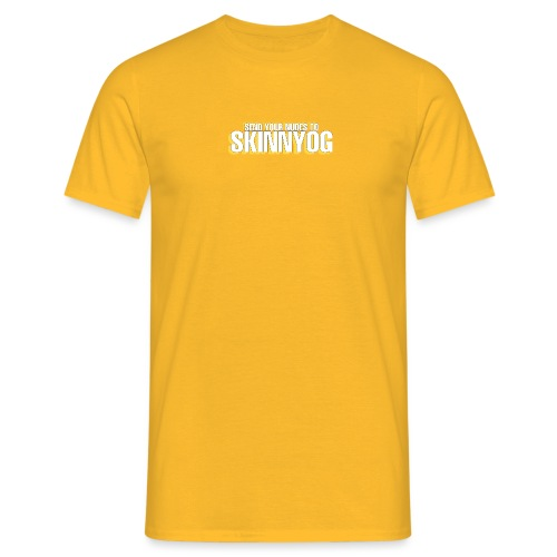 Send your nudes to SkinnyOG - Männer T-Shirt