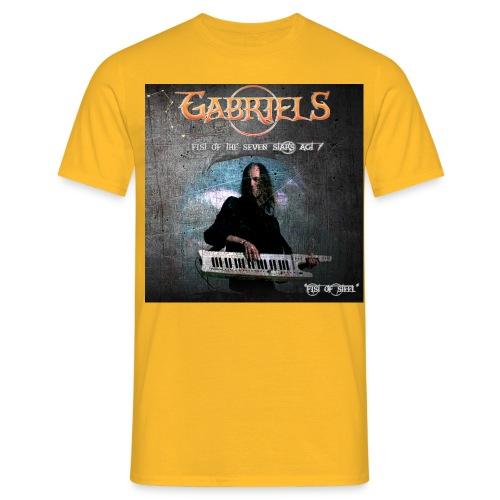fist of steel maglietta - Maglietta da uomo