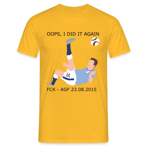 Oops, I Did It Again - Herre-T-shirt
