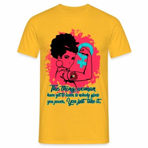 Girl Power - Maglietta da uomo