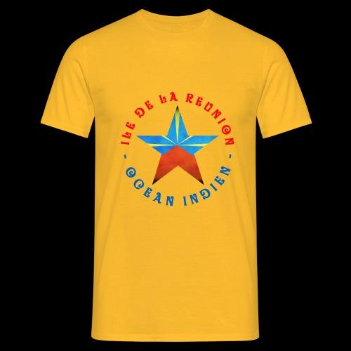 Collection Etoile Lo Mahavéli drapeau régional - T-shirt Homme
