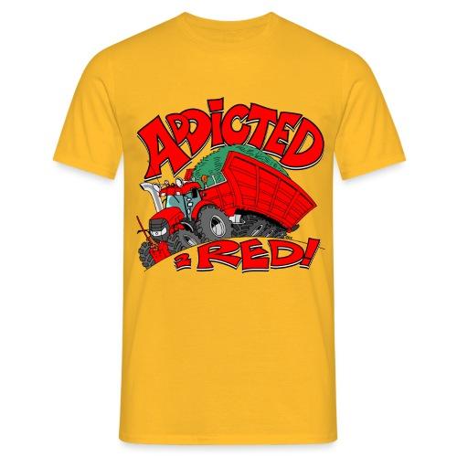 Addicted2RED - Mannen T-shirt