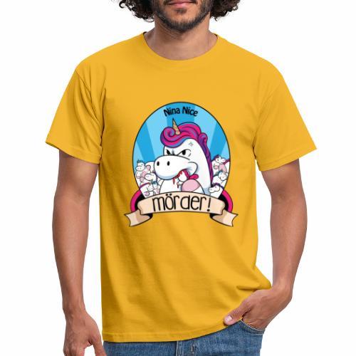 Murder Unicorn - Männer T-Shirt
