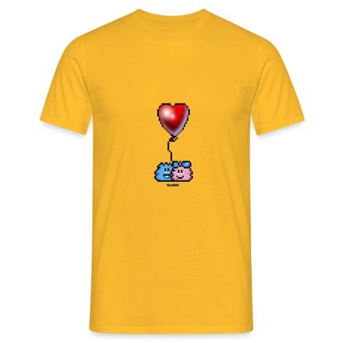 Heart Balloon - Männer T-Shirt