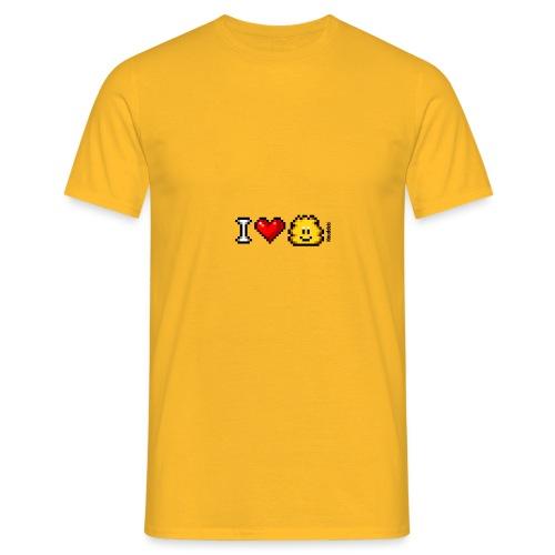 I Love Knuddels - Männer T-Shirt