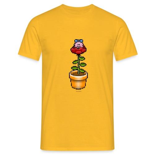 Rosentopf - Männer T-Shirt