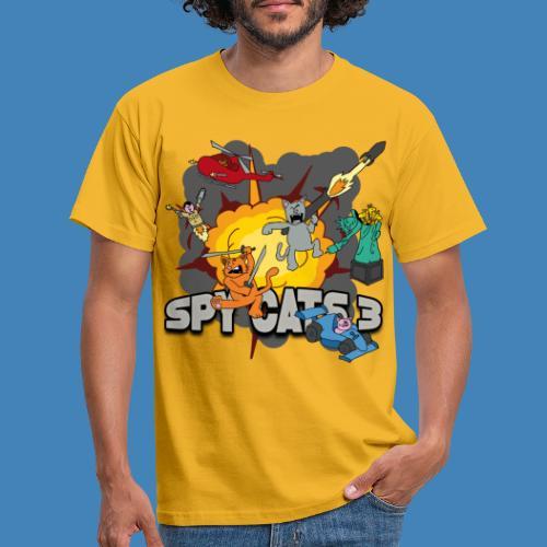 Spy Cats 3 - Mannen T-shirt