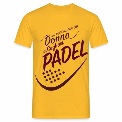 PadelCagliari - Maglietta da uomo