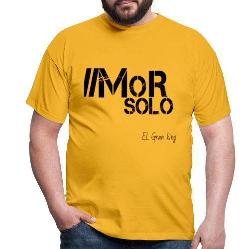 Mor solo El Gran KIng - Camiseta hombre
