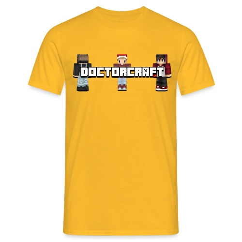 DoctorCraft Tshirt 2 png - Männer T-Shirt